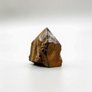 Tiger's Eye Crystal, Generator Point - SMALL